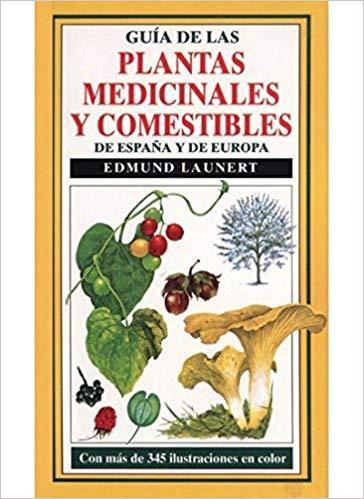 libro-plantas-medicinales-comestibles-españa-europa-edmund-launert